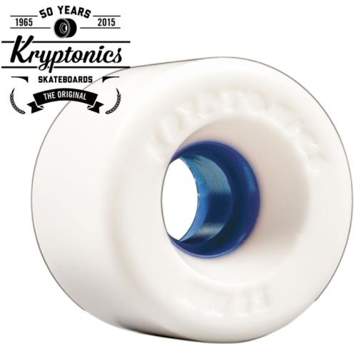 Roues Kryptonics Cruiser/Longboard 60mm Star Trac white blue