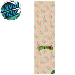 Plaque de grip Mob Santa Cruz TMNT half shell Heroes clear