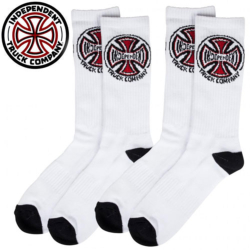 Chaussettes Independent Truck CO. White (2 Paires)