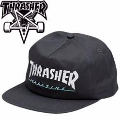 Casquette Thrasher Logo two tones grey