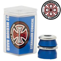 Independent bushing Medium Conical 92A blue (jeu de 4 gommes)