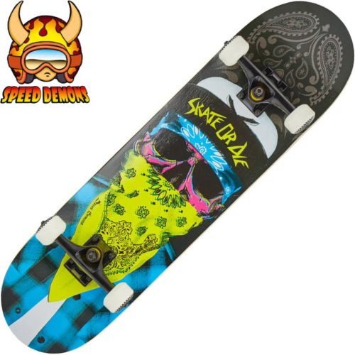 Skateboard complet Speed Demons Mob blue yellow 8.25""