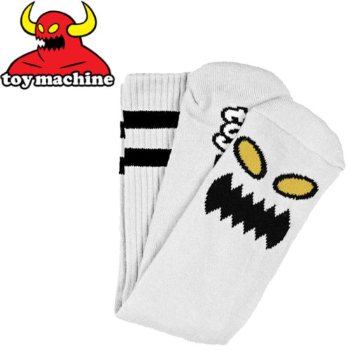 Chaussettes Toy Machine Monster White