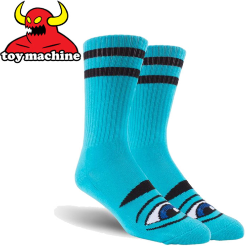 Chaussettes Toy Machine Sect Eye Blue