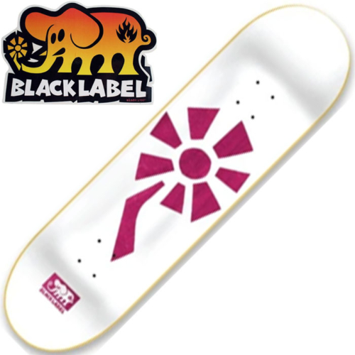 Plateau Black Label flower power white pink 8.25""