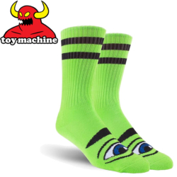 Chaussettes Toy Machine Sect Eye Green
