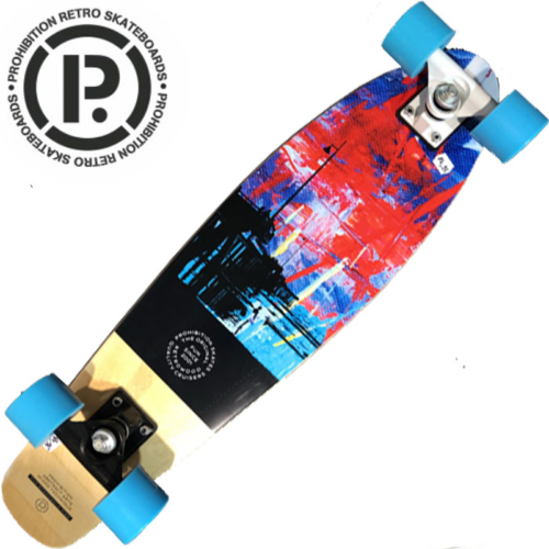 Cruiser Prohibition The Board Walk Pier Wood Blue 28""