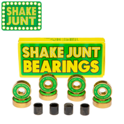 Roulements Shake Junt Abec 7 Green/Gold
