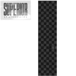 Plaque de grip Superior Checker Black