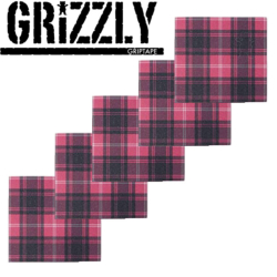 Plaques de grip Grizzly Plaid Mini
