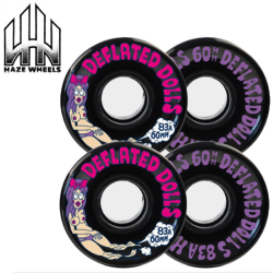 Roues Haze Deflated Dolls 2 60mm 83A