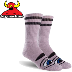Chaussettes Toy Machine Sect Eye Pink Heather