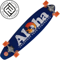 Longboard Flying Wheels Aloha 40""