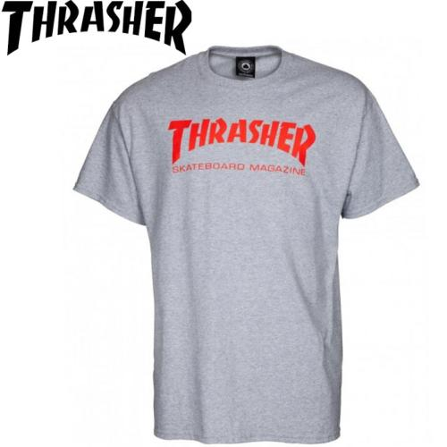 Tee-shirt Thrasher skate magazine Grey