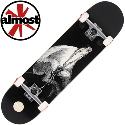 Skateboard complet Almost DR. SECRET ART BLACK 7.875""