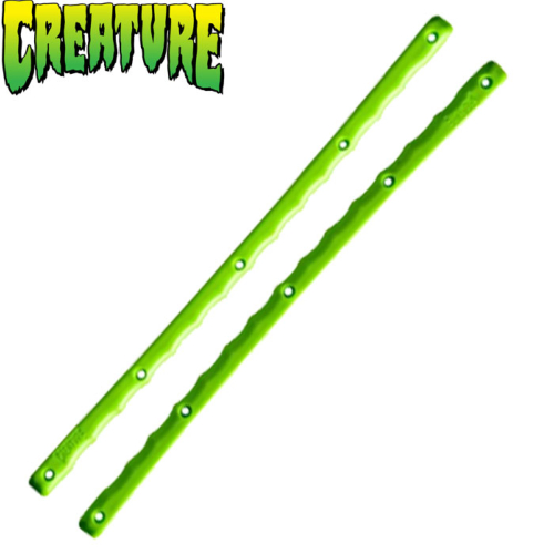 Slimline Rails Creature Serrated Green