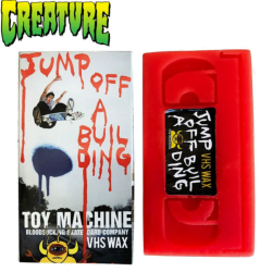 Skate wax Toy Machine JUMP OFF A BUILDING