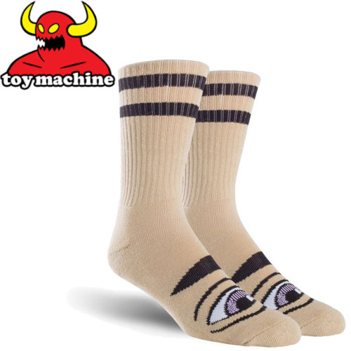 Chaussettes Toy Machine Sect Eye Camel