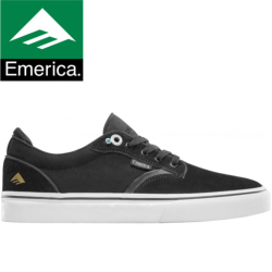 Chaussures Emerica Dickson black white gold