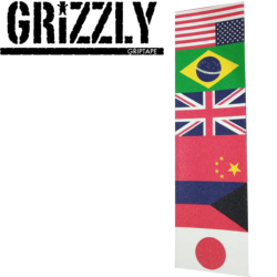 Plaque de grip Grizzly Internationally Known