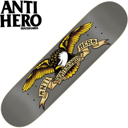 Plateau Antihero Classic Eagle Larger Grey 8.25""