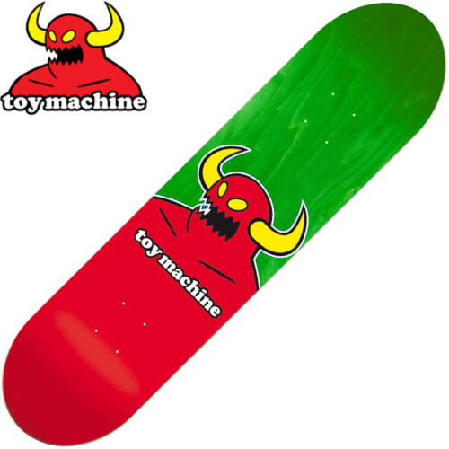 Plateau TOY MACHINE MONSTER Green 8.375""
