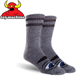 Chaussettes Toy Machine Sect Eye Grey Heather