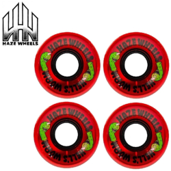 Roues Haze Hell's Worm 2 60mm 78A