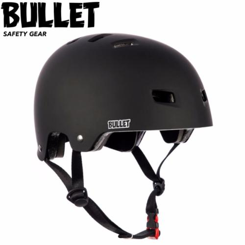 Casque de protection Bullet adulte mate black taille S/M