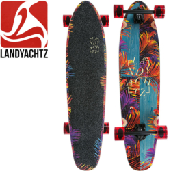 Longboard Landyatchz Ripper Tropical Nights 37""