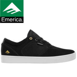 Chaussures Emerica Figgy Dose black white gold