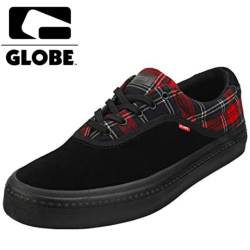 Chaussures Globe Sprout black Plaid